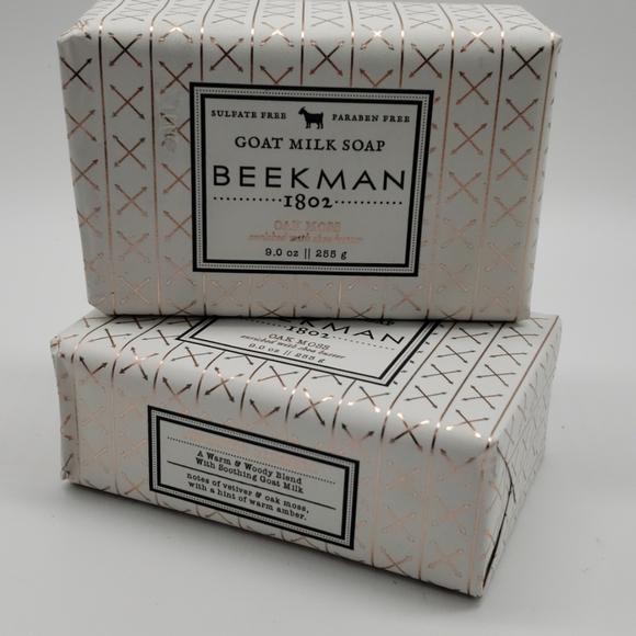 Beekman 1802 Other - 2 Beekman 1802 Oak Moss Goat Milk Soap Bars 9oz ea